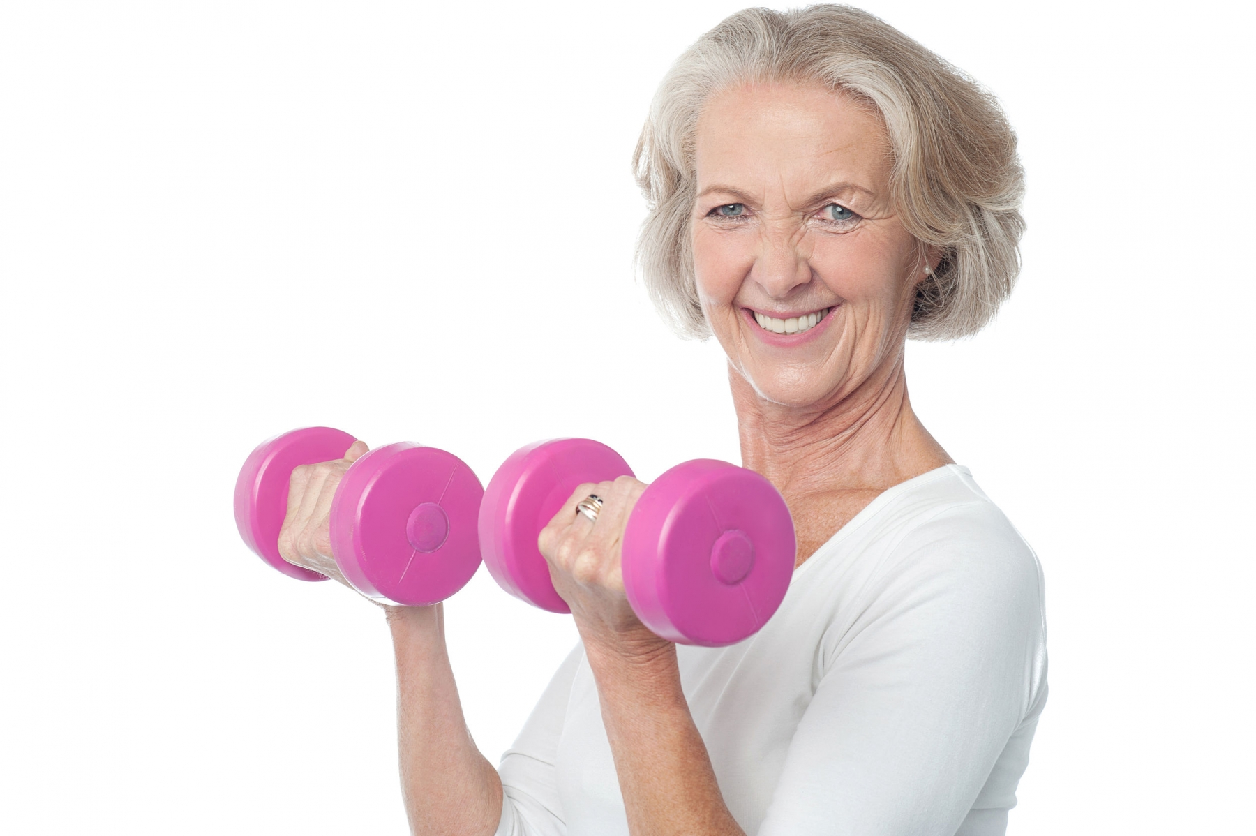 retirement communities, seniors exercising