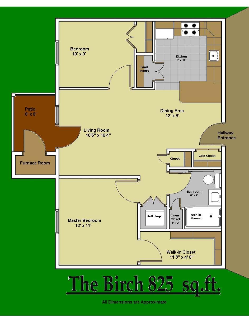 Woodbridge Senior Village 2 Bedroom